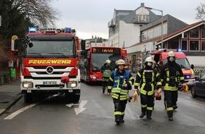 Freiwillige Feuerwehr Menden: FW Menden: Gefahrguteinsatz in der Innenstadt