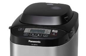 Panasonic Deutschland: Panasonic Brotbäcker SD-ZB2512 und SD-2511 / Wissen, was drin ist: Leckere Brote noch frischer als vom Bäcker