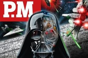 """Gruner+Jahr, P.M. Magazin: Sind Laserwaffen und Lichtschwerter heutzutage Hightech-Utopien? - Die verblüffendsten Technologien aus """"Star Wars"""" im P.M. Realitätscheck"""