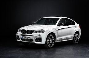 BMW Group: Essen Motor Show 2014. Neue BMW M Performance Parts / Sportliche Nachrüstkomponenten für BMW X3 und BMW X4 sowie für BMW M3 und BMW M4
