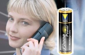 Telion AG: Les accus PhonePower de Varta désormais en taille Micro