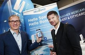 """feratel media technologies AG: feratel forciert mit """"HelloSpot"""" und einer  innovativen """"SocialWall"""" die Interaktion mit Gästen"""