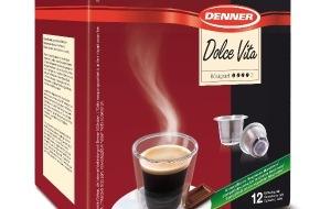 Denner AG: Denner lanciert Nespresso*-kompatible Kaffee-Kapsel / Kaffeegenuss zu attraktivem Preis