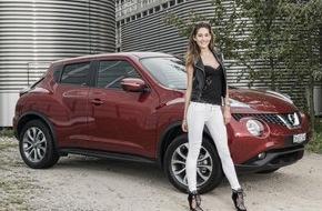 Nissan Switzerland: Bianca Gubser neue Nissan Markenbotschafterin in der Schweiz