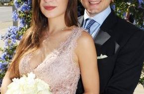 Faber-Castell: Hochzeit auf Schloss Stein / Charles Graf von Faber-Castell und Melissa Eliyesil heiraten am 26. Mai 2012