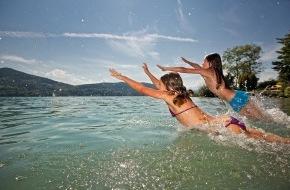 Tiscover GmbH: Wörthersee ist Österreichs beliebtester Urlaubs-Badesee