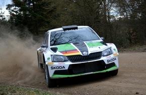 Skoda Auto Deutschland GmbH: SKODA Pilot Kreim nutzt Rallye in Österreich als Test für weitere DRM-Starts