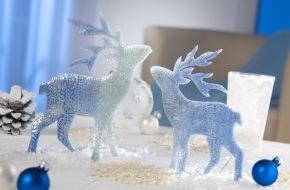 Staedtler: Glitzernde Weihnachtsdekoration mit FIMO effect