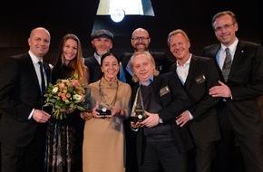 Warsteiner Brauerei: Deutscher Gastronomiepreis 2014 verliehen: Carmen Würth mit dem Warsteiner Preis für ihr Lebenswerk ausgezeichnet / Gastronomen aus Berlin und Hamburg freuten sich über Top-Auszeichnung