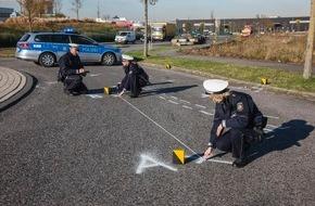 Polizeipressestelle Rhein-Erft-Kreis: POL-REK: Schwerverletzter Radfahrer - Hürth