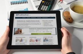 franke-media.net: Noch schneller zum Kredit - Relaunch von Kreditrechner.com (FOTO)