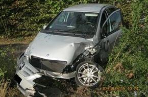 Polizeidirektion Neustadt/Weinstraße: POL-PDNW: Verkehrsunfall mit drei verletzten Personen