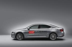 Skoda Auto Deutschland GmbH: SKODA chauffiert die Stars zum 22. Echo Klassik