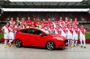 Ford-Werke GmbH: Seit 20 Jahren gemeinsam stark: Ford und der 1. FC Köln verlängern ihre Partnerschaft für eine weitere Saison (FOTO)