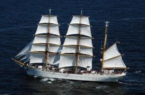 """Presse- und Informationszentrum Marine: """"Gorch Fock"""" startet zur Herbstreise - Das Segelschulschiff der Marine verlässt Kiel zur 168. Auslandsausbildungsreise"""