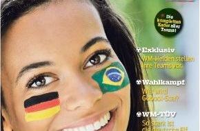 """MADSACK Mediengruppe: 1,3 Millionen Auflage: Madsack veröffentlicht WM-Magazin """"Gooool!"""" / 64 interaktive WM-Seiten mit Augmented Reality / Waldemar Hartmann, Felix Magath und Cacau als Kolumnisten"""