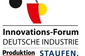 """Produktion: Wie disruptive Innovation gelingt / Der Kongress für Innovationspraxis in der digitalen Welt: """"Innovations-Forum DEUTSCHE INDUSTRIE 2015"""" am 3. und 4. November 2015 in Stuttgart"""