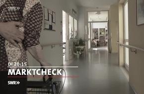 """Berufsbetreuer - nicht immer zum Besten der Betroffenen / """"Marktcheck"""" am 10.10.2017, 20:15 Uhr, SWR Fernsehen"""