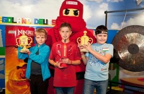 """LEGO GmbH: Dominic aus Weitenhagen ist der """"Meister des Spinjitzu 2011"""" (mit Bild)"""