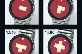 Partime Advision AG: Das Schweizerkreuz als Uhr