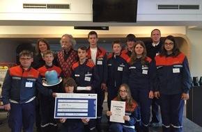 Freiwillige Feuerwehr Leopoldshöhe: FW Leopoldshöhe: Jugendfeuerwehr gewinnt 3.Platz beim Sicherheitspreis