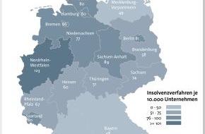 BÜRGEL Wirtschaftsinformationen GmbH & Co. KG: 26.733 Unternehmen meldeten 2013 Insolvenz an / Schäden mit 26,5 Milliarden weiter auf hohem Niveau