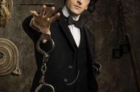 """Sky Deutschland: Ein Meister der Magie und der Entfesselung: """"Houdini"""", inszeniert von Uli Edel, exklusiv auf Sky"""