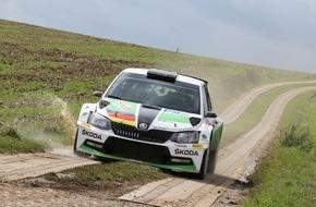 Skoda Auto Deutschland GmbH: Rallye Baden-Württemberg: SKODA Youngster Kreim peilt vierten Saisonsieg an