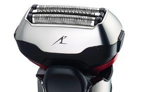 Panasonic Deutschland: Panasonic Nass/Trocken-Rasierer der ES-LT-Serie / Scharfe Neuheiten mit innovativer 3D-Scherkopf-Technologie passen sich auch schwierigen Gesichtskonturen optimal an