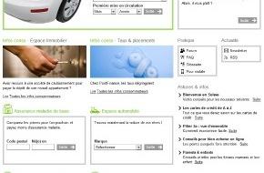 comparis.ch AG: comparis.ch reconfigure son site Internet - comparis.ch fait peau neuve