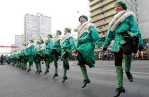 Diageo Guinness Continental Europe: Rekordverdächtige Party-Stimmung - Große Parade in München St. Patrick's Day: Feierlichkeiten sollen ins Guinness Buch der Rekorde (mit Bild)