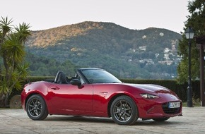 Mazda (Suisse) SA: Mazda MX-5, le roadster est de retour ! / Depuis plus de 25 ans, le roadster Mazda MX-5 incarne le plaisir de conduite accessible pour le plus grand nombre.