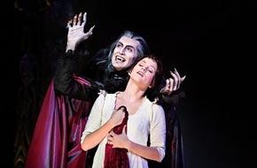 """Stage Entertainment Berlin: Vampire feiern Comeback: Musicalerfolg """"Tanz der Vampire"""" kehrt zurück nach Deutschland / Premiere im Berliner Stage Theater des Westens am 24. April 2016"""