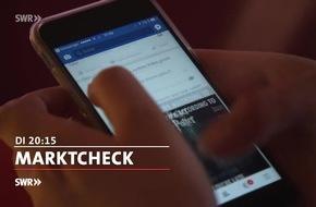 """Achtung Änderung: """"Marktcheck"""", 16.5.2017: Facebook-Falle - wenn die Gauner eingeladen werden, 20:15 Uhr, SWR Fernsehen"""