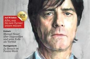 """Deutsche Bahn AG: """"Fünfzehn auf einen Streich"""" - Sonderausgabe des Kundenmagazins DB mobil zur Fußball-WM"""