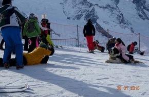 Schweizer Tierschutz STS: Foto-Bernhardiner in Zermatt: Unwürdiges Spektakel vor dem Aus / Stellungnahme Schweizer Tierschutz STS