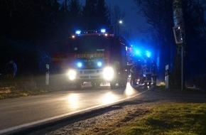 Feuerwehr Detmold: FW-DT: Unklare Rauchentwicklung