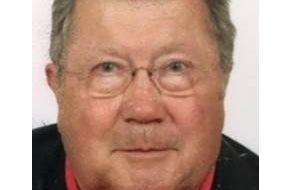 Polizeiinspektion Rostock: POL-HRO: Noch immer keine Spur von vermisstem Rentner aus Rostock - Polizei bittet dringend um Mithilfe