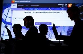HPI Hasso-Plattner-Institut: Hasso-Plattner-Institut spürte 2015 im Internet 35 Millionen geraubte Identitätsdaten auf / Jeder kann persönliche Betroffenheit prüfen