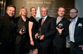 Warsteiner Brauerei: Deutscher Gastronomiepreis 2013 verliehen / Gastronomen aus Nordrhein-Westfalen haben die Nase vorn/Eugen Block mit dem Warsteiner Preis für sein ausgezeichnet