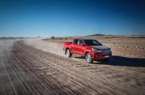 Toyota Schweiz AG: New Toyota Hilux - Eine neue Ära für den Pick-up