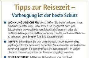 DVAG Deutsche Vermögensberatung AG: Versicherungscheck für die Reisezeit