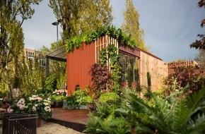 """Blumenbüro: Urban Gardening mit höchstem Komfort im Herzen Berlins / Pflanzenfreude.de eröffnet den """"Schrebergarten Deluxe"""""""