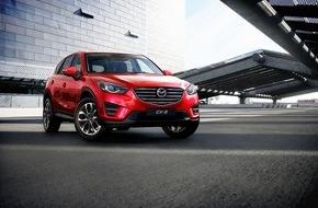 Mazda (Suisse) SA: Mazda6 und CX-5: 2015 - was für ein Jahrgang! (BILD)