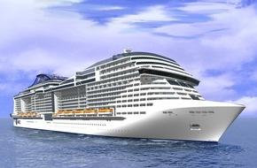 MSC Kreuzfahrten: MSC Cruises zieht während der Münzzeremonie der MSC Meraviglia die Option für zwei weitere Neubauten bei STX France