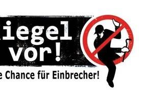 """Polizei Düsseldorf: POL-D: """"Riegel vor!"""" - Bekämpfung des Wohnungseinbruchs - Bilanz des Aktionstages"""