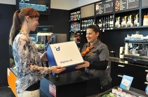 Migros-Genossenschafts-Bund: PickMup - die neue Dienstleistung für Online-Kunden: Im Internet bestellen und in der Migros, bei Ex Libris, Migrolino oder im Fitnesscenter abholen