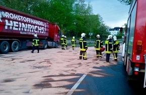 Feuerwehr Gelsenkirchen: FW-GE: Undichter Dieseltank verursacht Feuerwehreinsatz