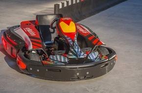 Linde Material Handling: E-DRENALINE - Stapler-Hightech trifft Racing-Knowhow / Kart-Hersteller CRG setzt auf elektrische Antriebstechnik von Linde Material Handling