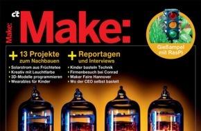 Make: Make: Intelligente Gartenwässerung selbst gebaut / Raspi steuert Wasserversorgung für Beet und Rasen
